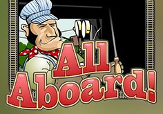 All Aboard Pokie Logo