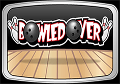 Bowled Over Pokie Logo
