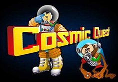 Cosmic Quest Mission Control Pokie Logo
