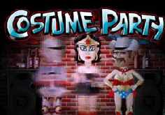 Costume Party Pokie Logo