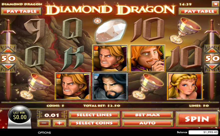 Diamond Dragon Pokie