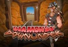 Diamonds Downunder Pokie Logo