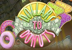 Dollars To Donuts Pokie Logo