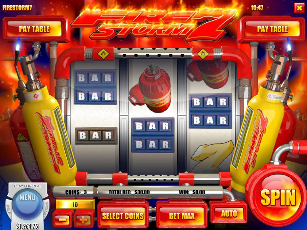 Firestorm 7 Pokie