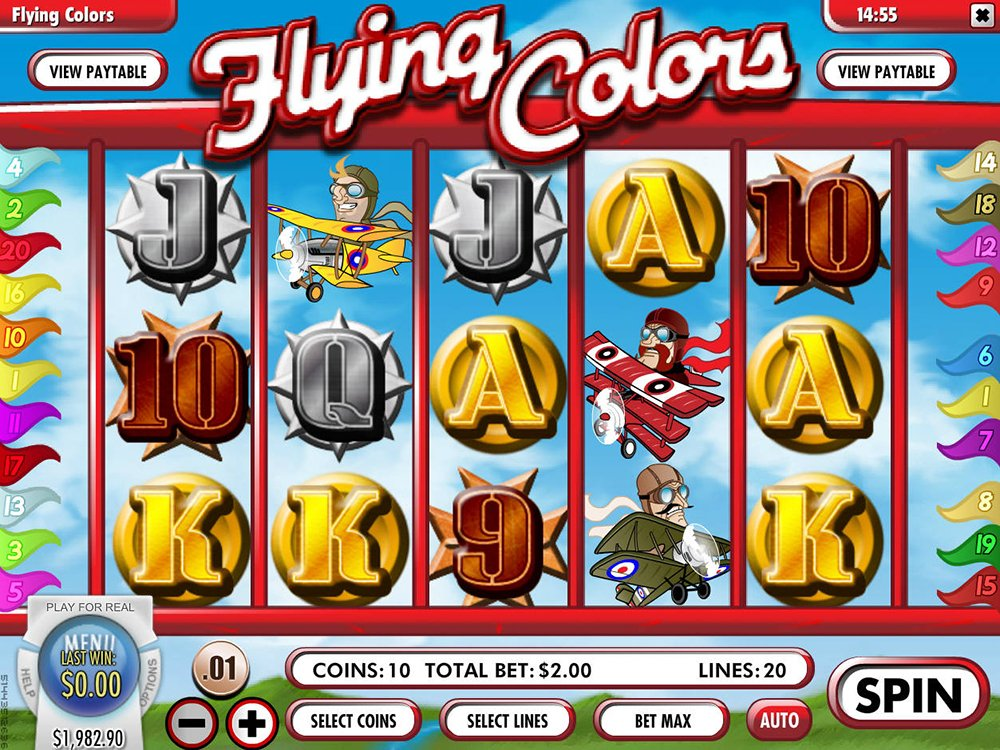 Flying Colors Pokie