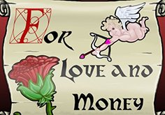 For Love And Money Pokie Logo