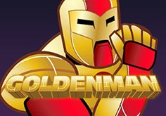 Golden Man Pokie Logo