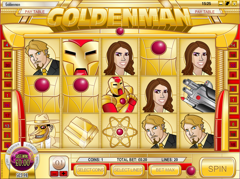Golden Man Pokie