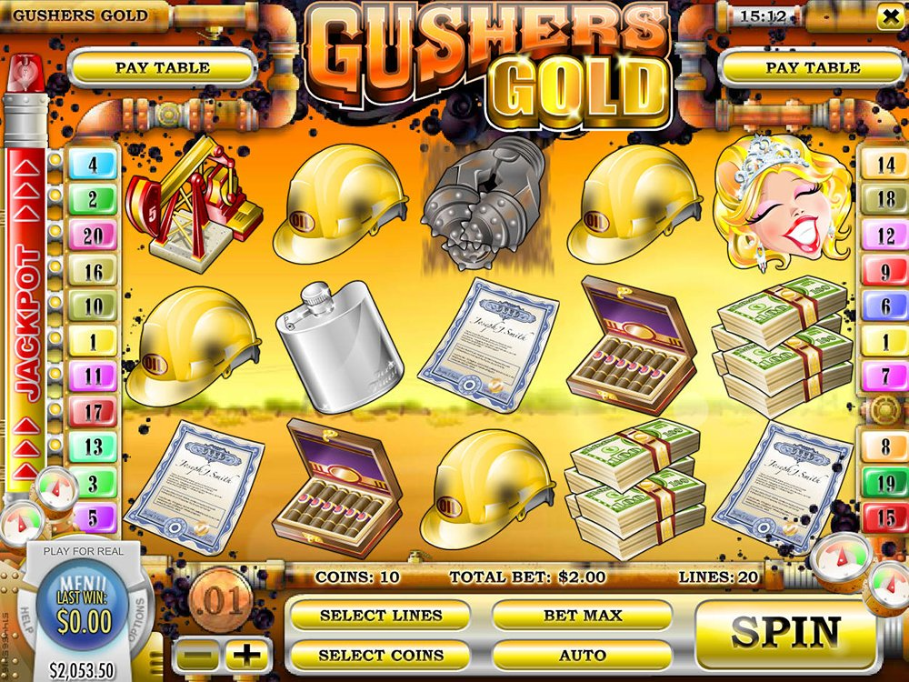 Gushers Gold Pokie