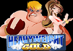 Heavyweight Gold Pokie Logo