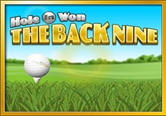 Hole In Won The Back Nine Pokie Logo