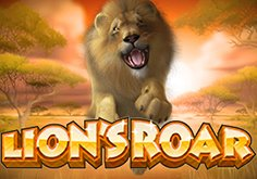 Lion 8217s Roar Pokie Logo