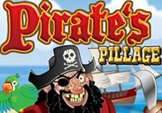 Pirate 8217s Pillage Pokie Logo