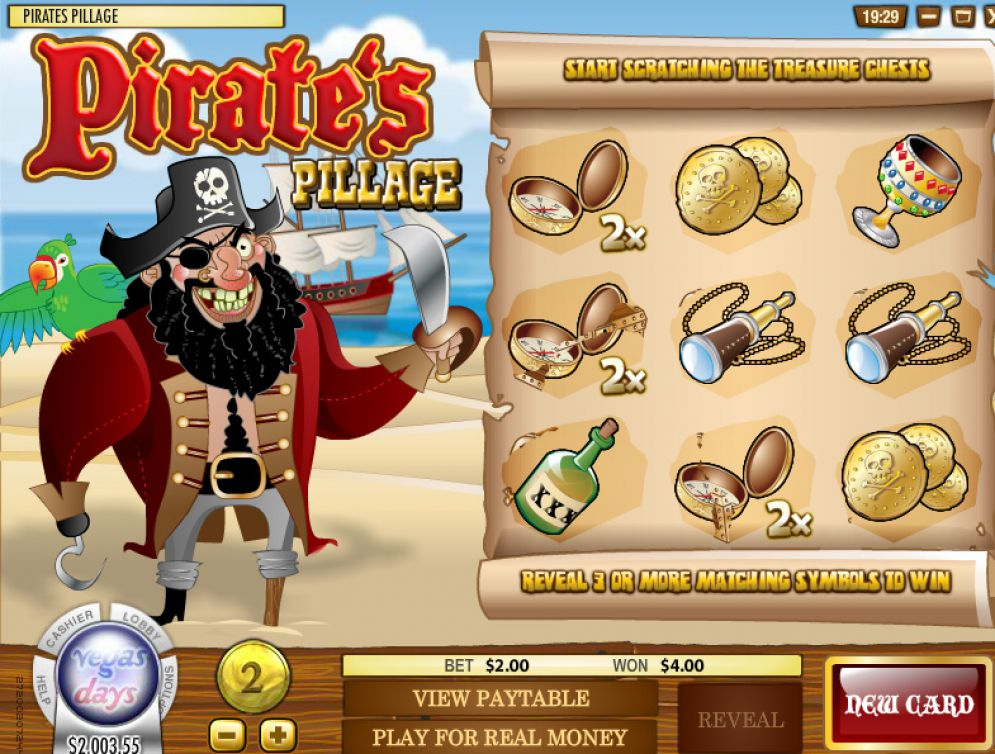 Pirate 8217s Pillage Pokie