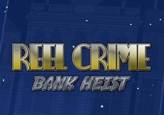Reel Crime Bank Heist Pokie Logo