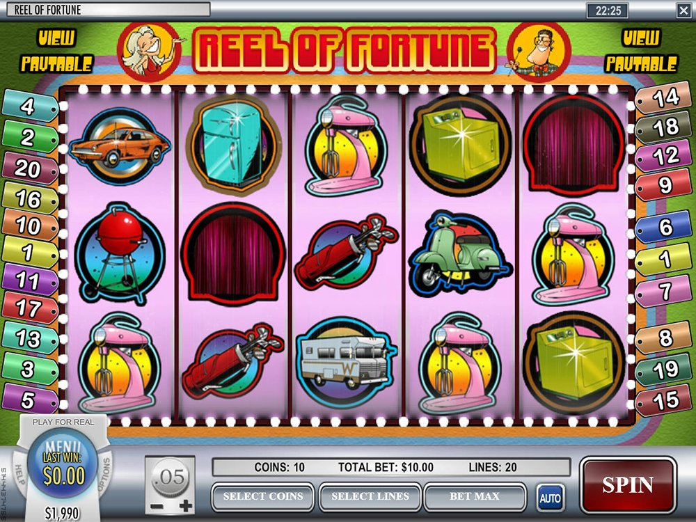 Reel Of Fortune Pokie