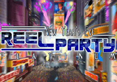 Reel Party Platinum Pokie Logo