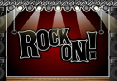 Rock On Pokie Logo