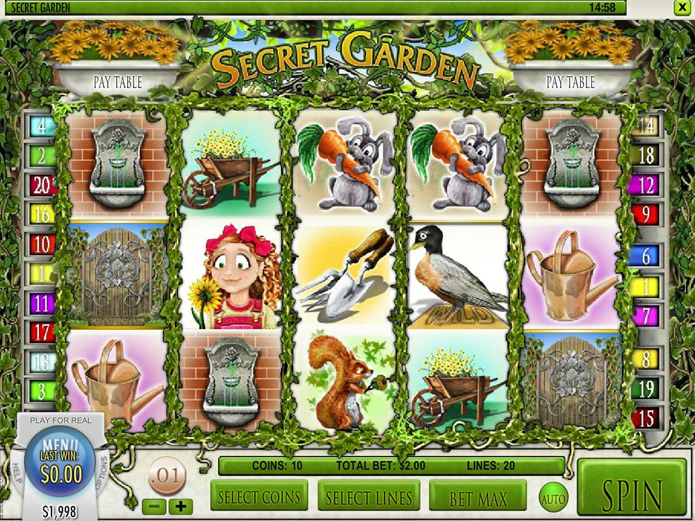 Secret Garden Pokie