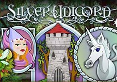 Silver Unicorn Pokie Logo