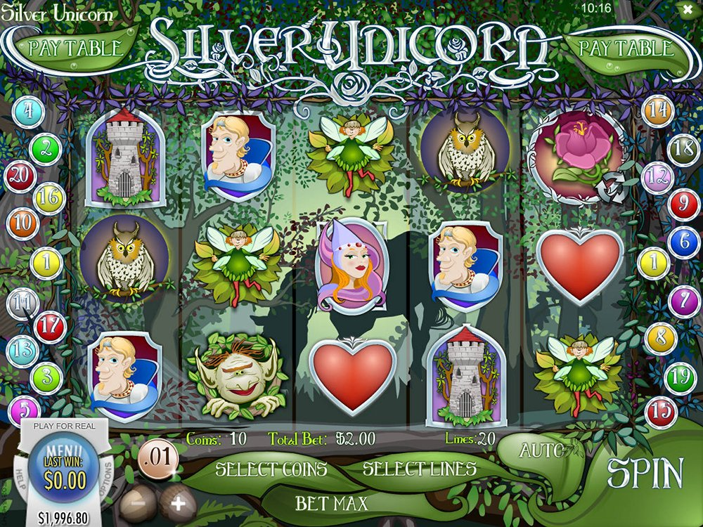 Play Silver Unicorn Slot Machine Free with No Download