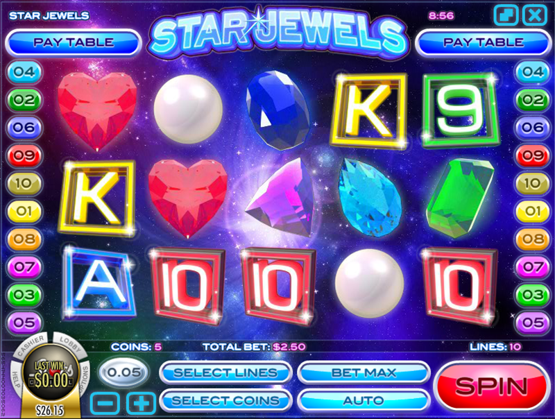 Star Jewels Pokie