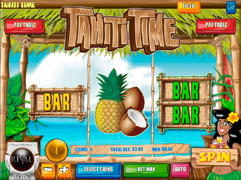 Tahiti Time Pokie