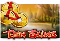 Ten Suns Pokie Logo