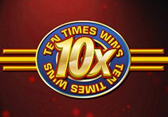 Ten Times Wins Pokie Logo