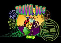 Travel Bug Pokie Logo