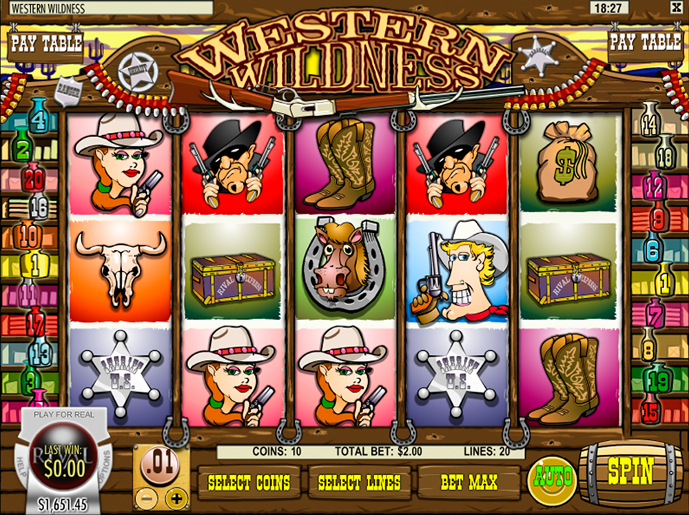 Western Wildness Pokie