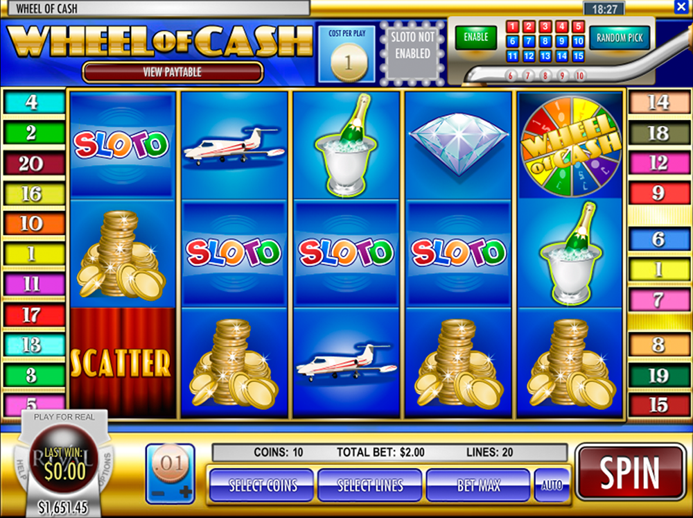 Wheel Of Cash Pokie