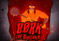 Bork The Berserker Pokie Logo