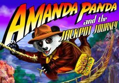 Amanda Panda 038 The Jackpot Journey Pokie Logo