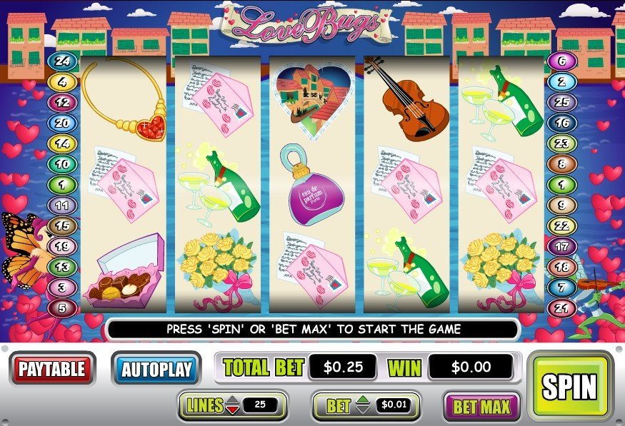 Love Bugs Pokie