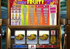 Lucky Fruity 7 8217s Pokie Logo
