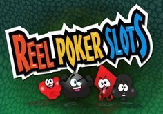 Reel Poker Slots Pokie Logo