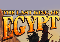 The Last King Of Egypt Pokie Logo
