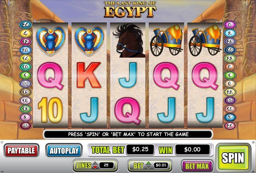 The Last King Of Egypt Pokie