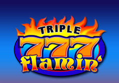 Triple Flammin 8217 7 8217s Pokie Logo