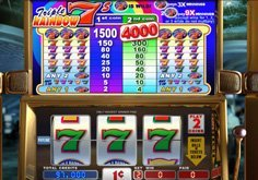 Triple Rainbow 7 8217s Pokie Logo