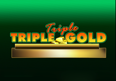 Triple Triple Gold Pokie Logo