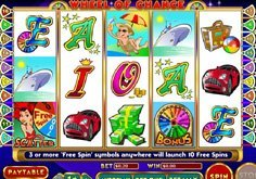 Wheel Of Chance 5 Reel Pokie Logo