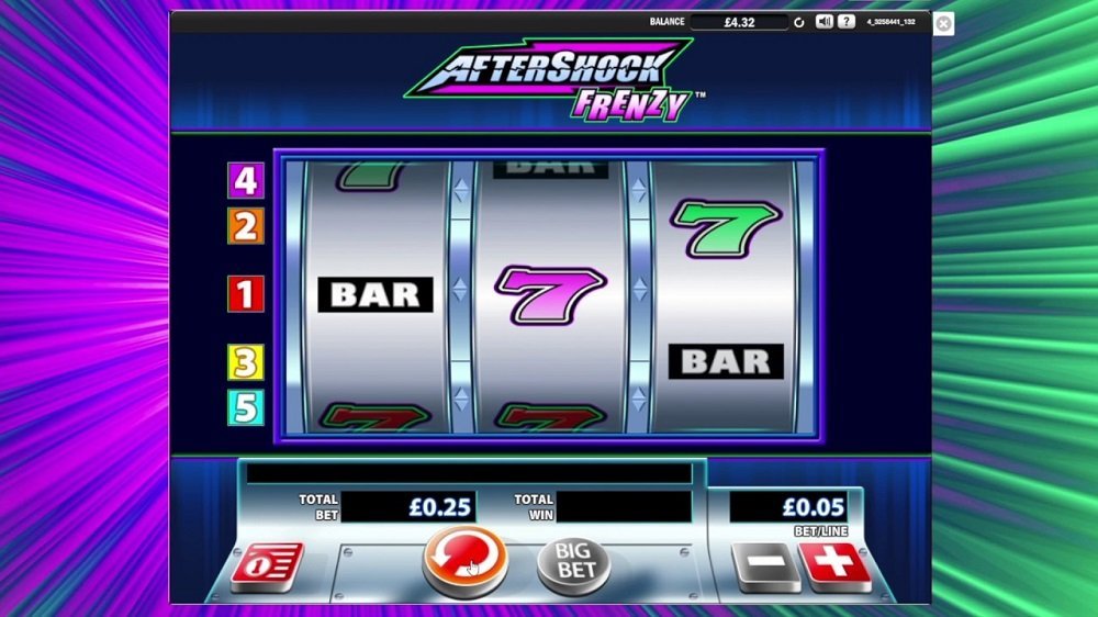 Aftershock Frenzy Pokie