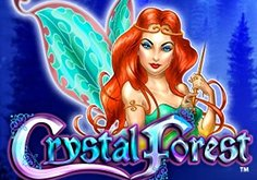 Crystal Forest Pokie Logo