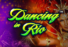 Dancing In Rio Pokie Logo