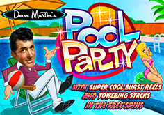 Dean Martin 8217s Pool Party Pokie Logo