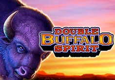 Double Buffalo Spirit Pokie Logo