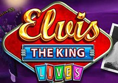 Elvis The King Lives Pokie Logo