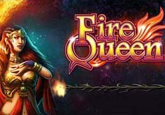 Fire Queen Pokie Logo